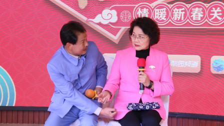 豫剧名家汤玉英、刘海功合作演出《倒霉大叔的婚事》月下相会一折
