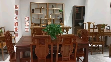 实木家具,大耀城亮相,古朴典雅!