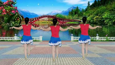 郴州冬菊广场舞【爱的暴风雨】时尚潮流现代舞背面演示附正面分解