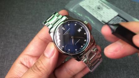 KY 名匠手表蓝面同步L888.2机芯