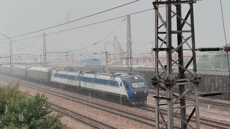 6.25调图K491跨越宿州站