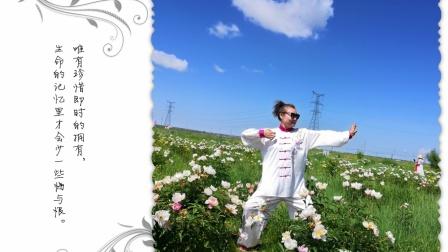 赏花—李艳