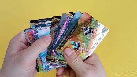 炫彩版和荣耀版开出的卡都很喜欢出了11张满星卡