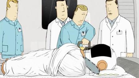 兄弟死在太空,他躲在太空服里不愿出来,医生锯开头盔后懵住了