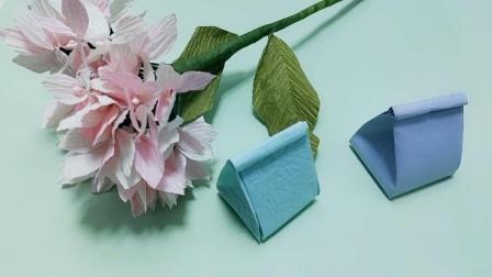 儿童折纸礼品袋,制作教程!