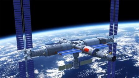 打破封锁!3名航天员入驻空间站,17国果断抛弃美国,拜登怒了