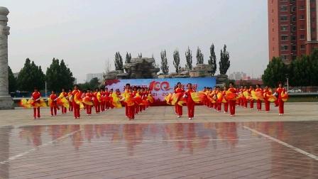 202100626庆七一汇演18扇子舞中国梦公园梦之队