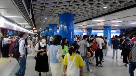 [2020.10]广州地铁5号线 猎德-珠江新城 运行与报站 换乘3号线过程