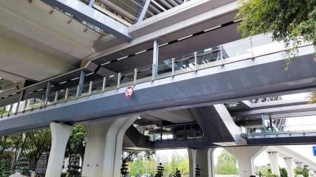 [2021.3]广州地铁4号线 黄阁-黄阁汽车城 运行与报站