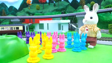 小兔子吃胡萝卜比赛