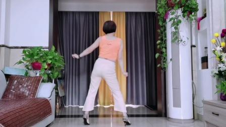 动感现代广场舞《Susy gala》背面演示