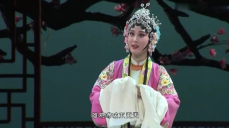 黄梅戏《罗帕记》选段 雄鸡啼破五更天  名家吴美莲演唱