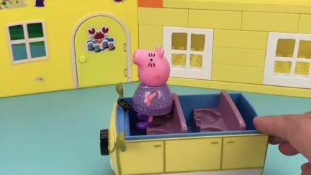 猪爸爸为了健康跑步回家!