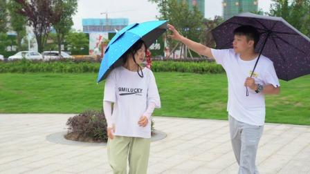 夏天到了,这个双层伞,隔热又防晒,晴雨两用