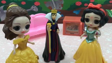 王后启动魔法盒,知道女巫的藏哪里了!