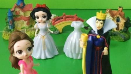 贝尔也想要新裙子,可王后才不给买