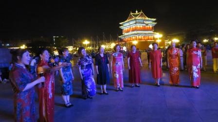 上-尧都区老体协鼓楼合唱艺术团庆祝中国共产党成立100周年联欢会(第二场)20210629