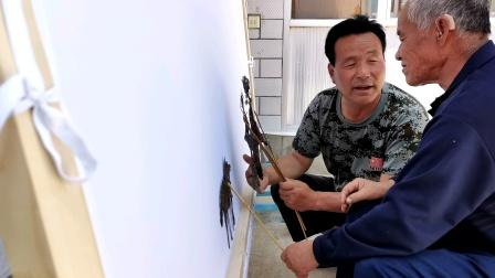 静宁县保存时间最久的皮影