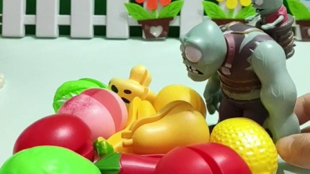 巨人僵尸想买水果,但是都不认识