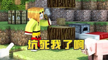 【小龙】我的世界MC天启之境EP2坑死我啊!Minecraft游戏视频