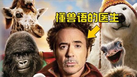 神奇医生精通兽语,能轻松和动物交谈,还治疗了恶龙的便秘,电影