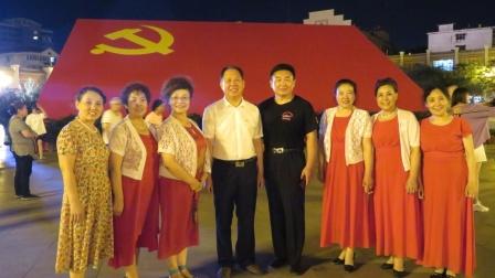 上-临汾鼓楼合唱艺术团庆七一联欢会20210630
