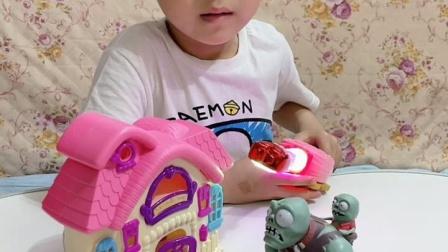 趣味童年:小魔仙给僵尸一个家