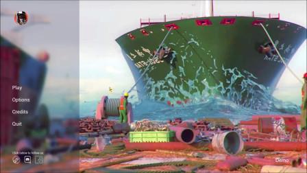 《船舶垃圾场模拟器》试玩版速通:辛勤拆卸破铜烂铁只为卖好价钱
