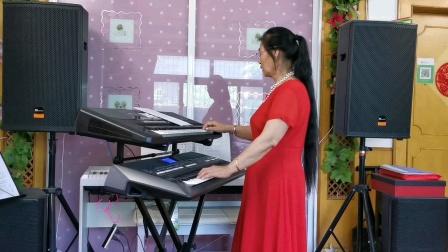 《党啊,亲爱的妈妈》庆祝建党100周年双电子琴演奏!2021.6.30.🌷🌷🌷🌷