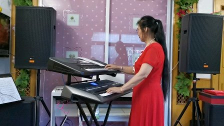 《今天是你的生日》庆祝建党100周年双电子琴演奏2021.6.30.🌹🌹🌹🌹🌹