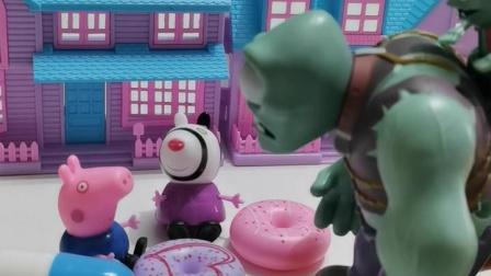 趣味玩具:乔治给僵尸吃了药丸