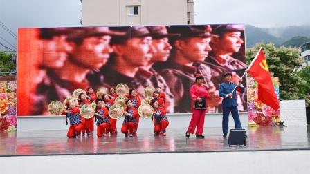 本溪南芬家乡美群庆百年华诞七一演出舞蹈《十送红军》编舞:紫藤。演出:群业余舞蹈队