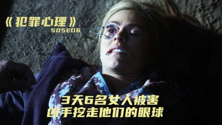 3天6名女人被害,凶手挖走他们的眼球,《犯罪心理》猎眼者奇案