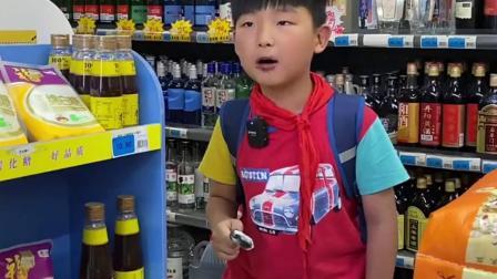 趣味童年:人类幼崽逛超市