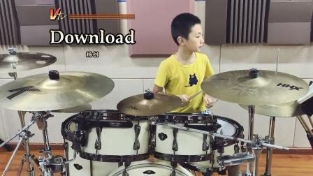 【架子鼓】《Download》杨创 小鼓手