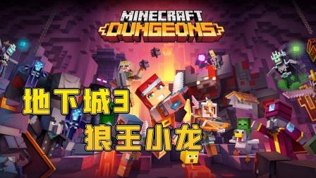 【小龙】我的世界MC地下城EP3狼王小龙 Minecraft游戏视频