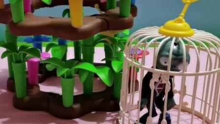 少儿玩具:僵尸以为自己藏的很隐秘
