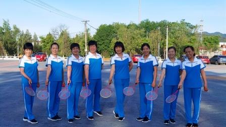 柔力球自编套路《新时代》,庆祝中国共产党百年华诞——矿机柔力球队