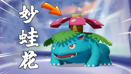 宝可梦大集结:背后发射的种子炸弹可以团灭敌人,收割使者妙蛙花