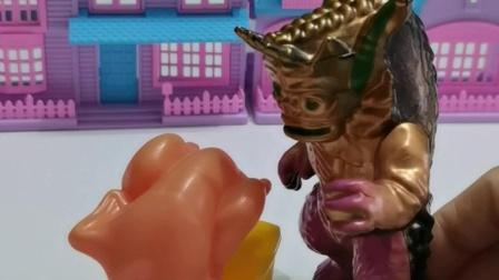 趣味玩具:僵尸的烧鸡被偷吃了