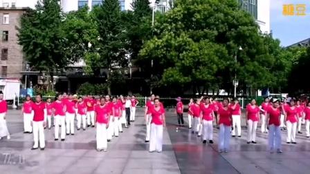 泰和县长寿健身队庆祝建党一百周年广场舞表演