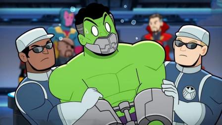 """绿巨人被强行带走,要进行""""解剖实验"""",只因他在基地放了个屁!"""