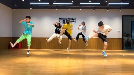 杭州临平区舞时舞刻街舞万宝城少儿okok团urban教学课堂视频