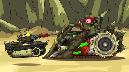 坦克大战:再次接受改造,挑战最强的电锯坦克!