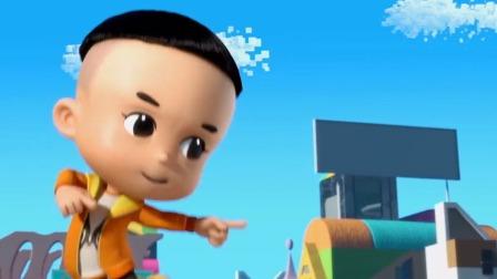 《新大头儿子和小头爸爸4:完美爸爸》动画大电影 新世界版 15S宣传片