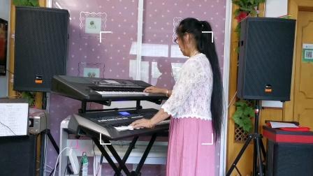《走进新时代》双电子琴演奏视频2021.7.6.🌹🌹🌹🌹🌹🌹
