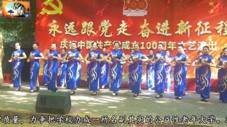 3.文昌市老年大学庆祝中国共产党成立100周年文艺演出