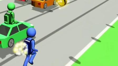 趣味小游戏:跑的也太慢了