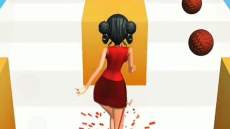 趣味小游戏:小姐姐的裙子是用什么做的呢?