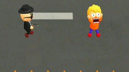 趣味小游戏:坏人掉到哪里了?